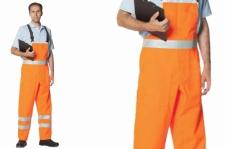 Warnschutz - Latzhose DIN