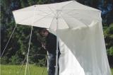 Zelte und Panen - Seitenvorhang